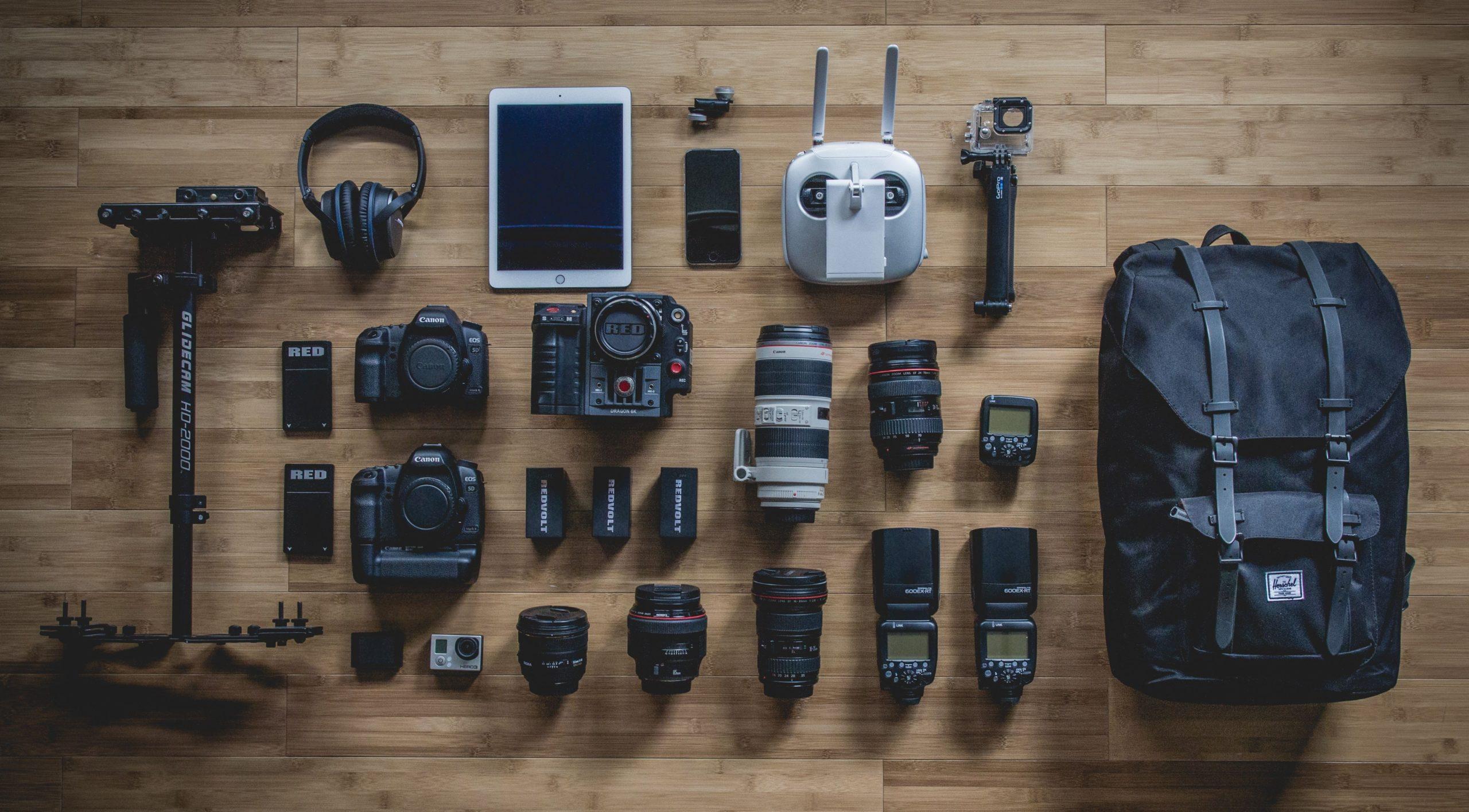แนะนำ อุปกรณ์ถ่ายรูป ที่คุณต้องมีในการถ่ายรูป