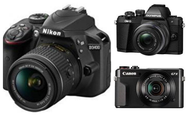 3 กล้องดิจิตอล สำหรับมือใหม่ ที่บอกเลยว่าเล่นง่ายรูปสวย