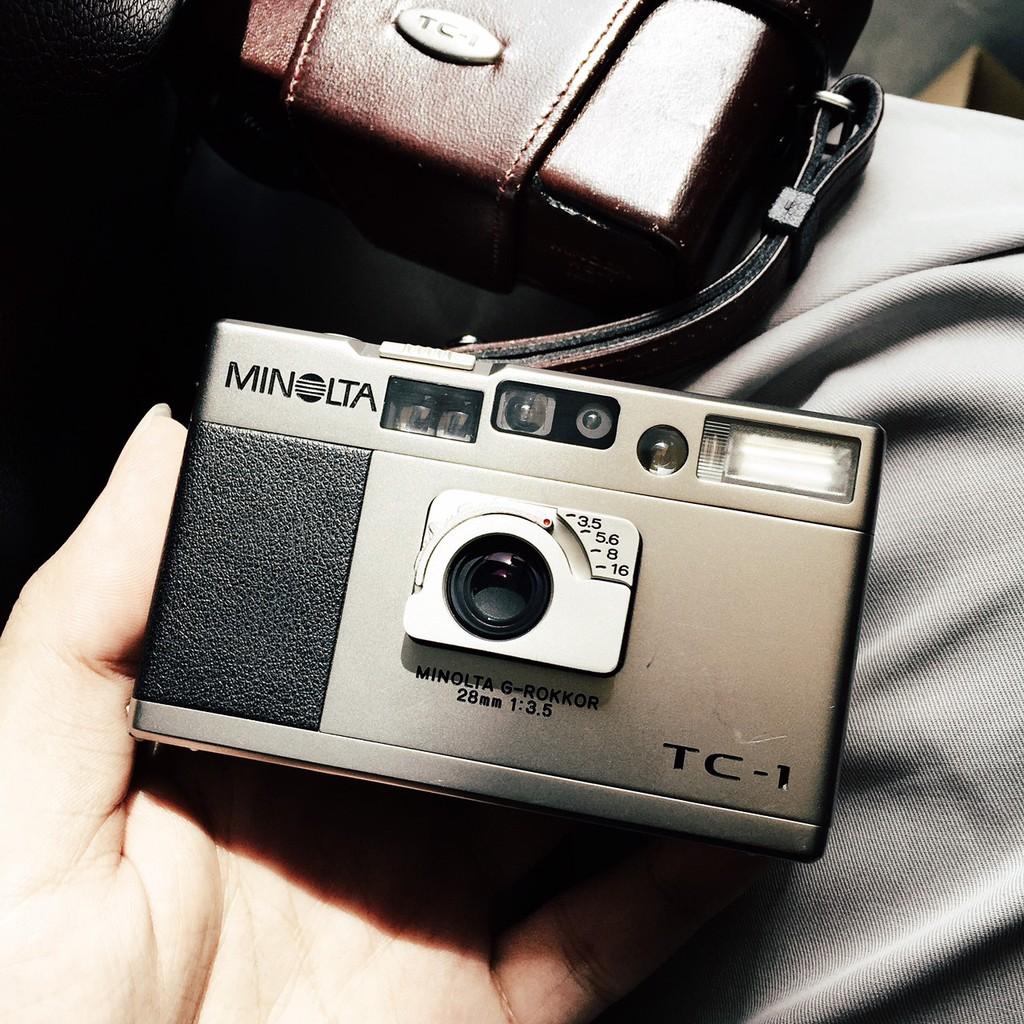 3 ข้อดีของ กล้องฟิล์ม Minolta TC-1 บอกเลยว่ามีความน่าสนใจมาก ๆ กับดีไซน์ที่มีความเรียบหรูดูแพงมาก