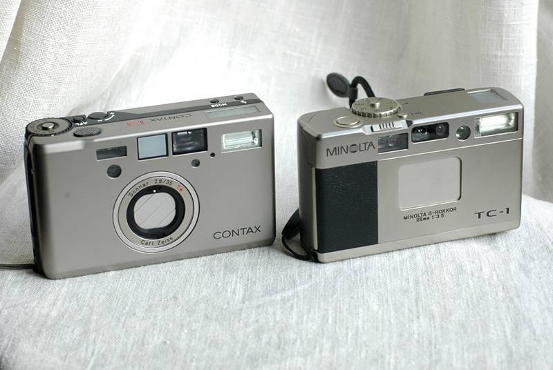 กล้องฟิล์ม Minolta TC-1