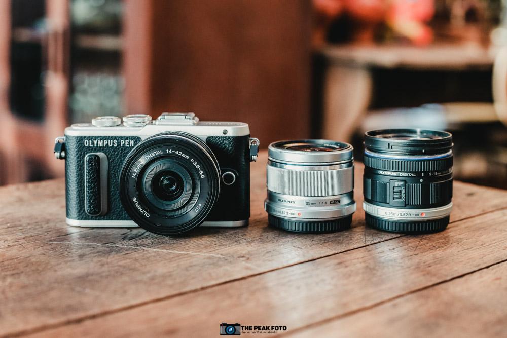 3 จุดเด่นของ กล้องOlympus PEN E-PL8 กล้องมิเรอร์เลสขนาดเล็กที่จิ๋วแต่แจ๋วสุด ๆ