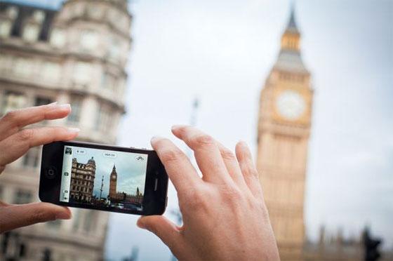 การใช้กล้องถ่ายภาพ