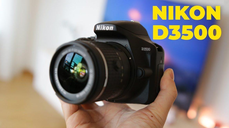 NIKON รุ่น D 3500 กล้องลูกผสมสำหรับมือใหม่