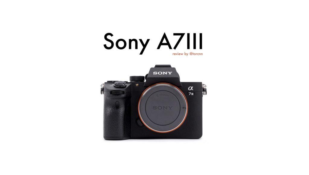 กล้องน่่าใช้SONY A7 III