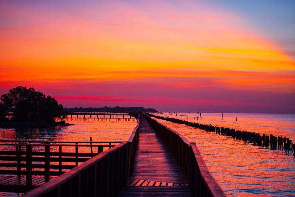 แนะนำถ่ายรูปท้องฟ้า ช่วงเวลา twilight