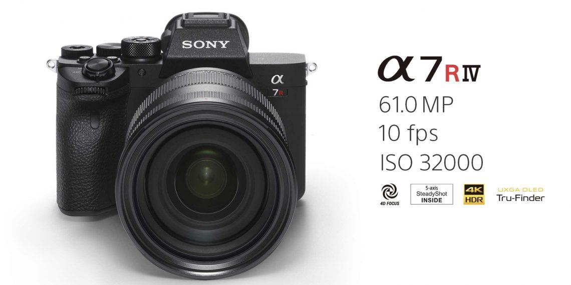 กล้องถ่ายรูป รุ่น SONY A7R IV กล้องขนาดกลางที่มาพร้อมกับความละเอียดสุด ๆ