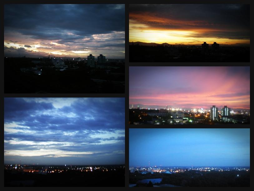 ถ่ายรูปท้องฟ้า ช่วงเวลา twilight