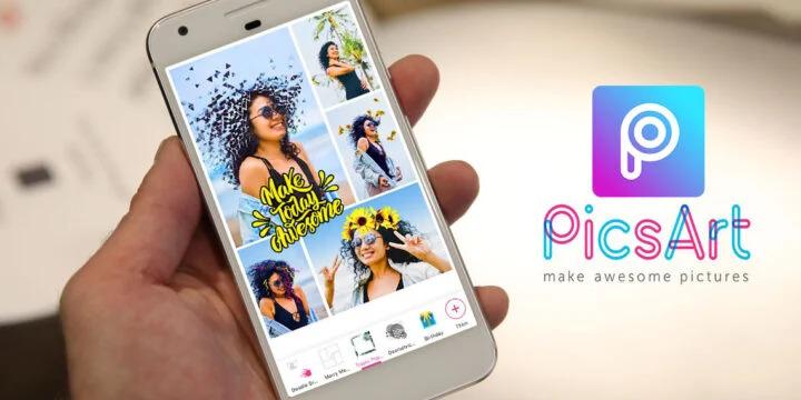แต่งรูปผ่านมือถือ สนุก ๆ กับฟีเจอร์สติ๊กเกอร์ใน application picart บนสมาร์ทโฟน