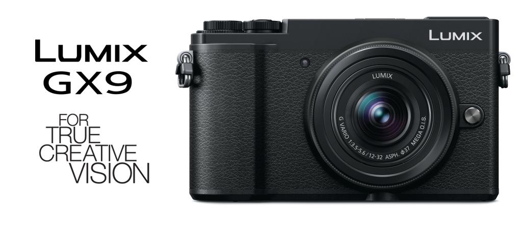 Lumix GX9 กล้องDigital Cameraพกง่ายสะพายไปได้ทุกที่จากค่าย Panasonic