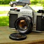 """Pentax SV""-กล้องบนโต๊ะ"