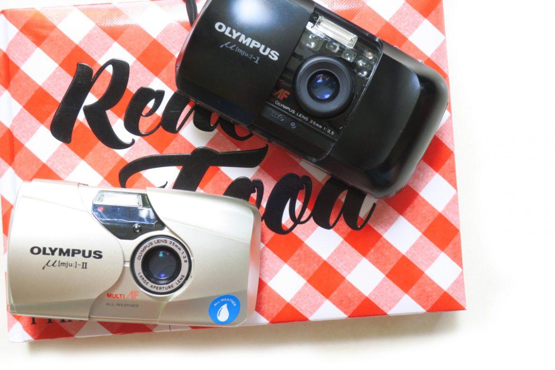 """Mju II"" กล้อง Compact Film แบรนด์ดัง Olympus เบาบางคมชัดใช้งานง่าย"