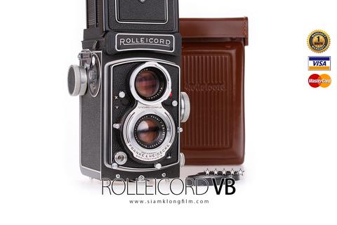 กล้อง Rolleicord รุ่น VB กล้องเก่าแต่เก๋ายุค 60-90 ชวนให้หลงไหลไปความวินเทจ