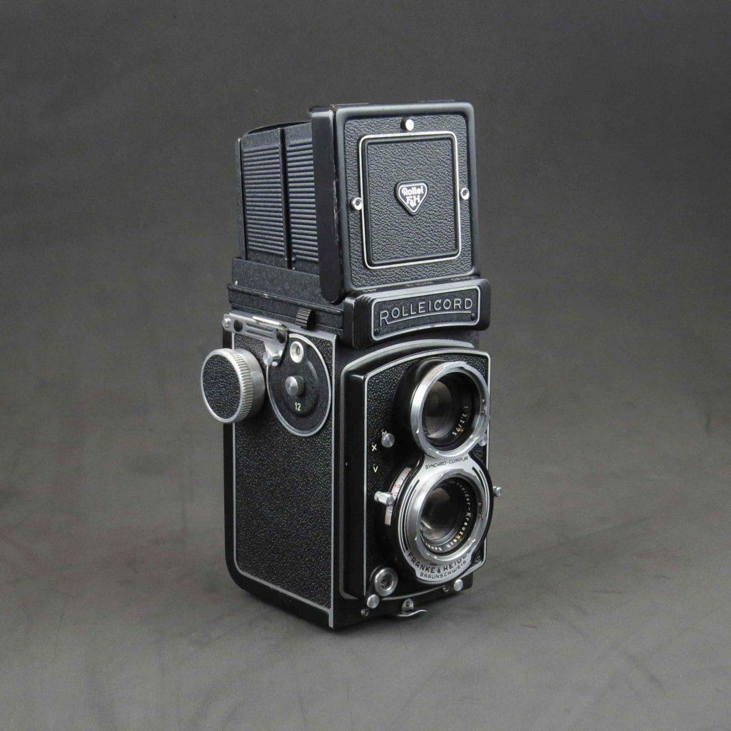 กล้อง Rolleicord รุ่น VB-ตัวกล้อง