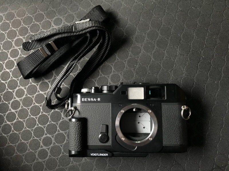Voigtlander BessaR กล้องฟิล์มมือสองคุณภาพดีดีไซน์เก่และมีความน่าใช้งาน