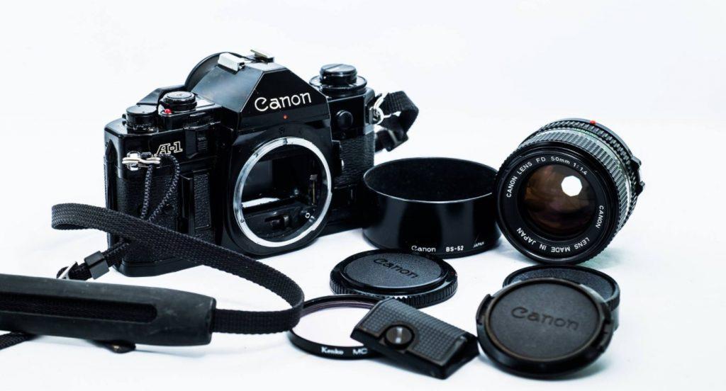 Canon A 1-ตัวกล้องและเลนส์
