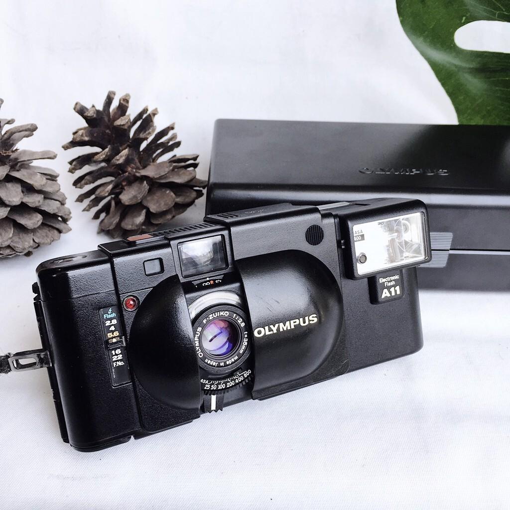 XA กับจุดเด่นของ กล้องฟิล์ม ขนาดเล็กที่เป็น Rangefinder จากแบรนด์Olympus