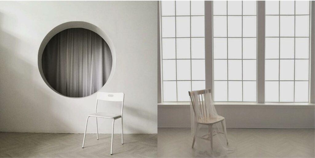 ถ่ายภาพสไตล์ Minimal-เก้าอี้
